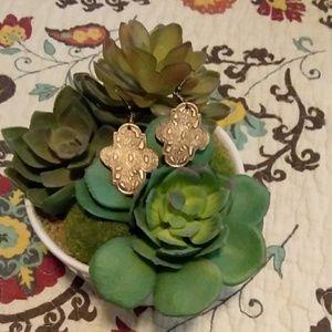 Handcraft Unique Bronze Earrings